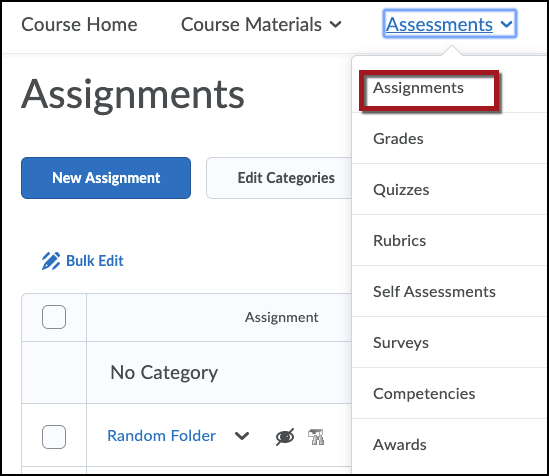 Select Assignments image