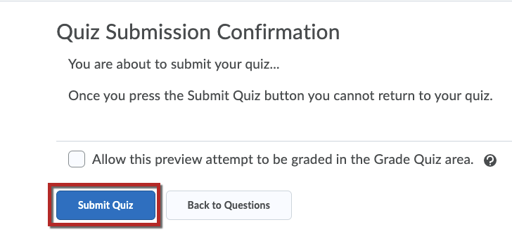 Submit Quiz Button image