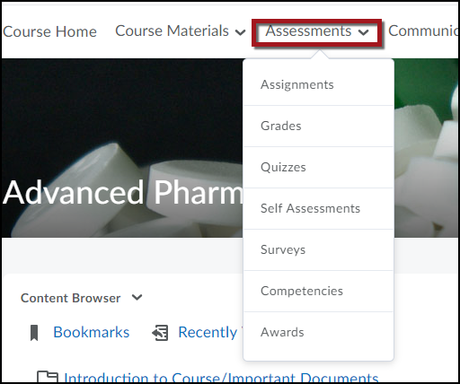 Selecting Assessments image